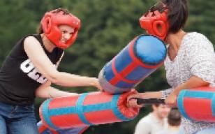 Gladiator Duel and Sumo Wrestling