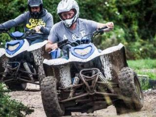 Quad Biking and Axe Throwing