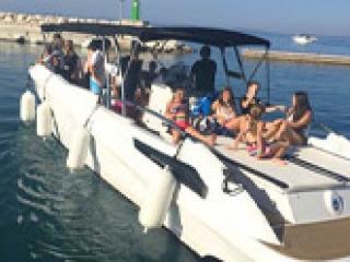 Speedboat Around Split